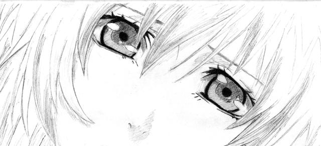 Disegni A Matita Anime Love